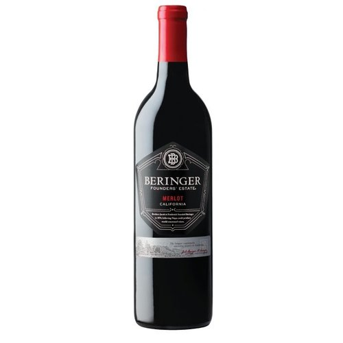 Beringer Founders' Estate Merlot - Rode wijn