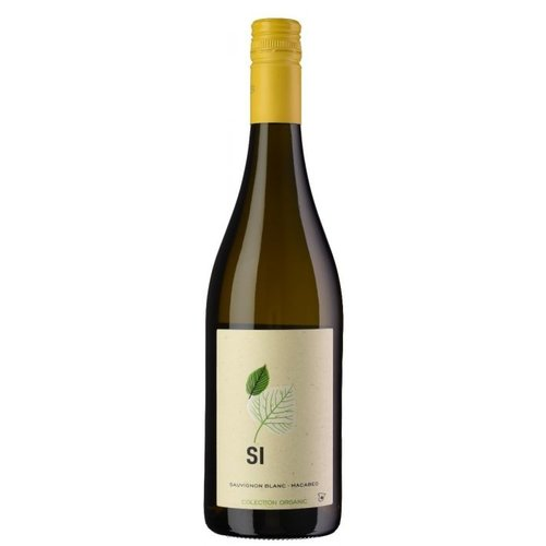 Sí Macabeo Sauvignon Blanc Organic - Witte wijn