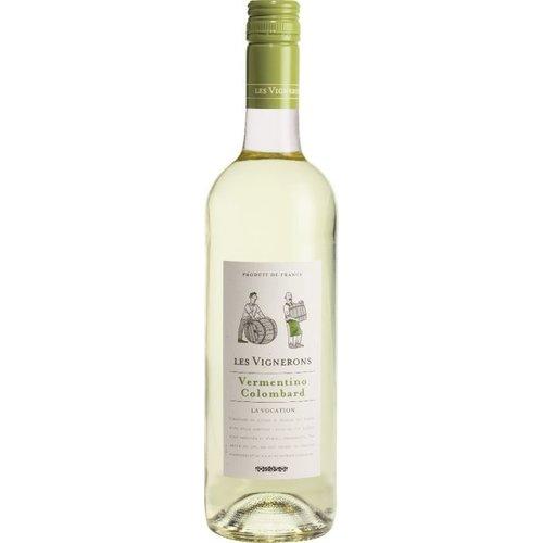 Les Vignerons Vermentino Colombard Blanc - Witte wijn