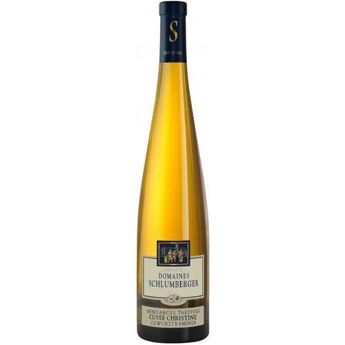 Domaines Schlumberger Cuvee Christine Gewurztraminer  Vendages Tardives AOC - Witte wijn