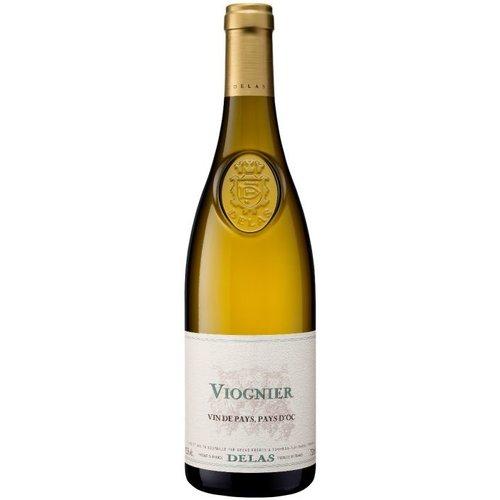 DELAS FRÈRES Viognier Vin de Pays d'Oc Séléction Delas Côtes du Rhône - Witte wijn