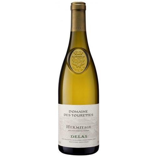 DELAS FRÈRES Hermitage 'Domaines des Tourettes' Blanc AOC - Witte wijn