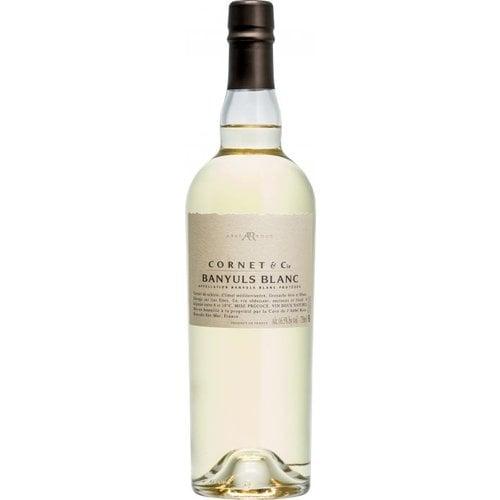 BANYULS Abbe Rous Cornet & Cie Banyuls Blanc AOC - Witte wijn