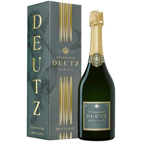 DEUTZ Brut 'Classic' in geschenkverpakking - Mousserende wijn
