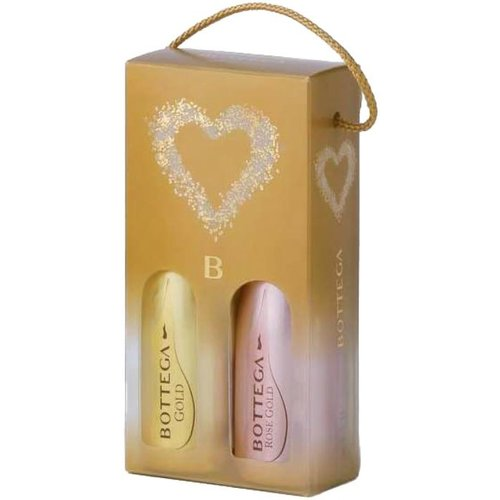 Bottega 2-Pack Piccolo Gold + Rose Gold - Mousserende wijn