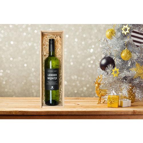 Lekker wijntje wijn cadeau Sauvignon Blanc- Cadeau