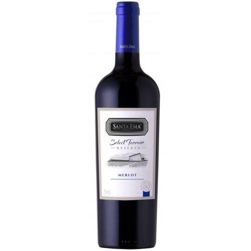 Santa Ema Select Terroir Merlot - Rode wijn