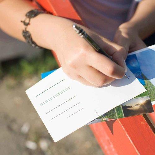 Briefkaart - Cadeau