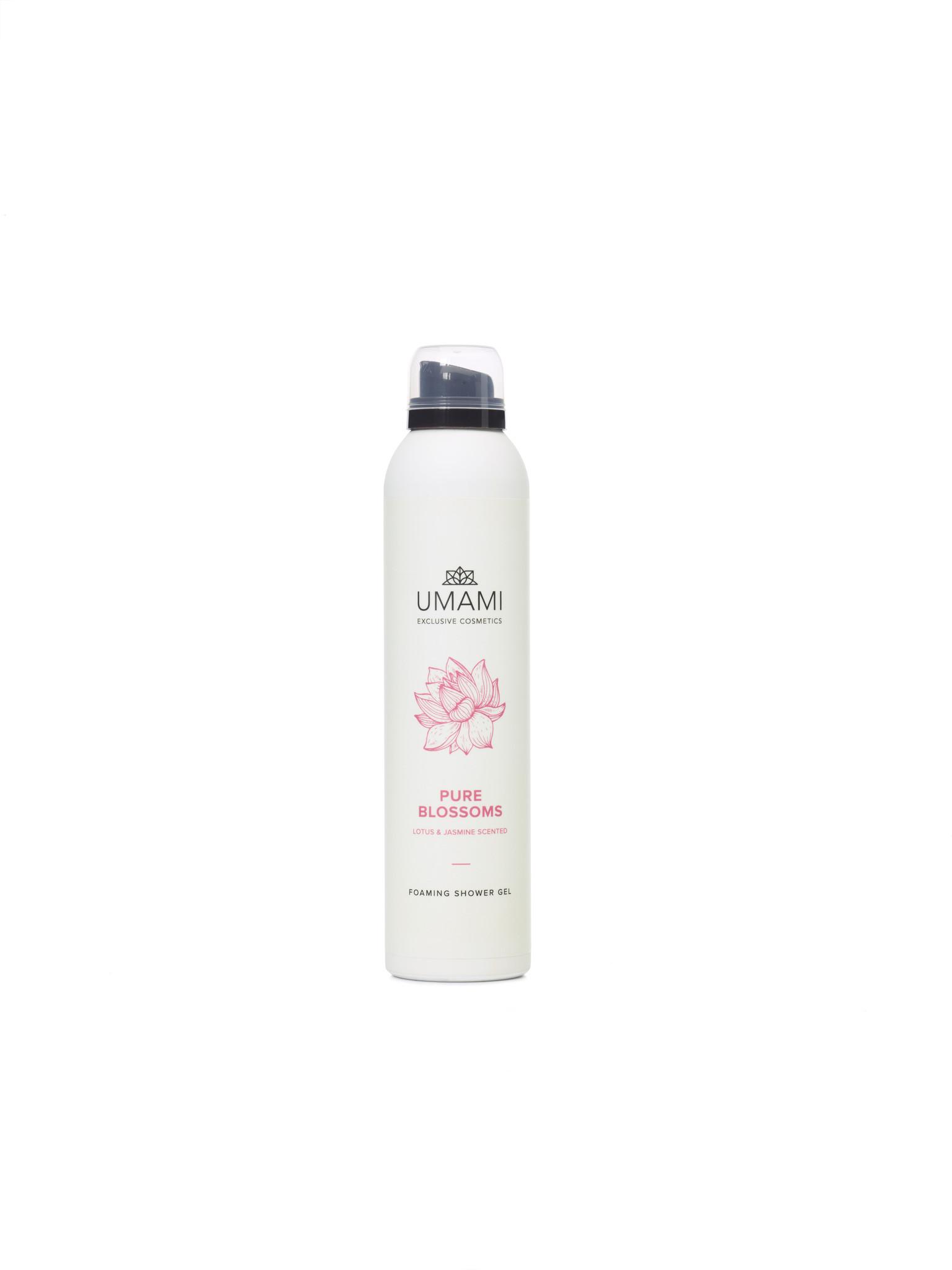 UMAMI Foaming  Shower Gel Pure Blossoms 200ml