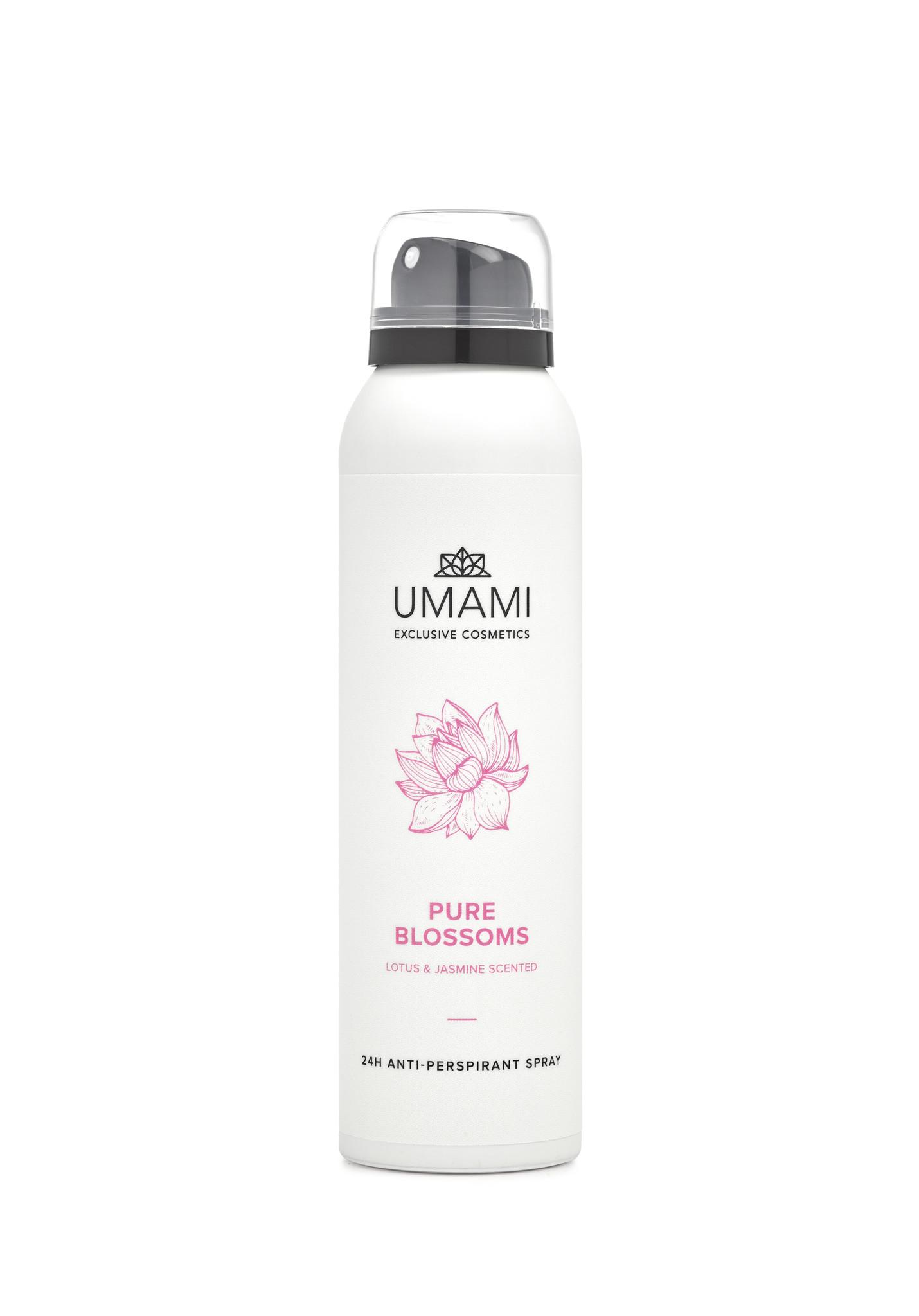 Umami Anti-perspirant spray Pure Blossoms 150ml