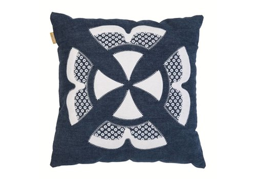 Ishara cushion denim
