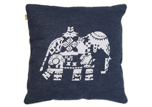 "Tembo denim cushion ""Bill"""