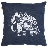 "Tembo denim cushion ""Sarah"""