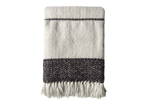 Berber offwhite throw (31 Dec)