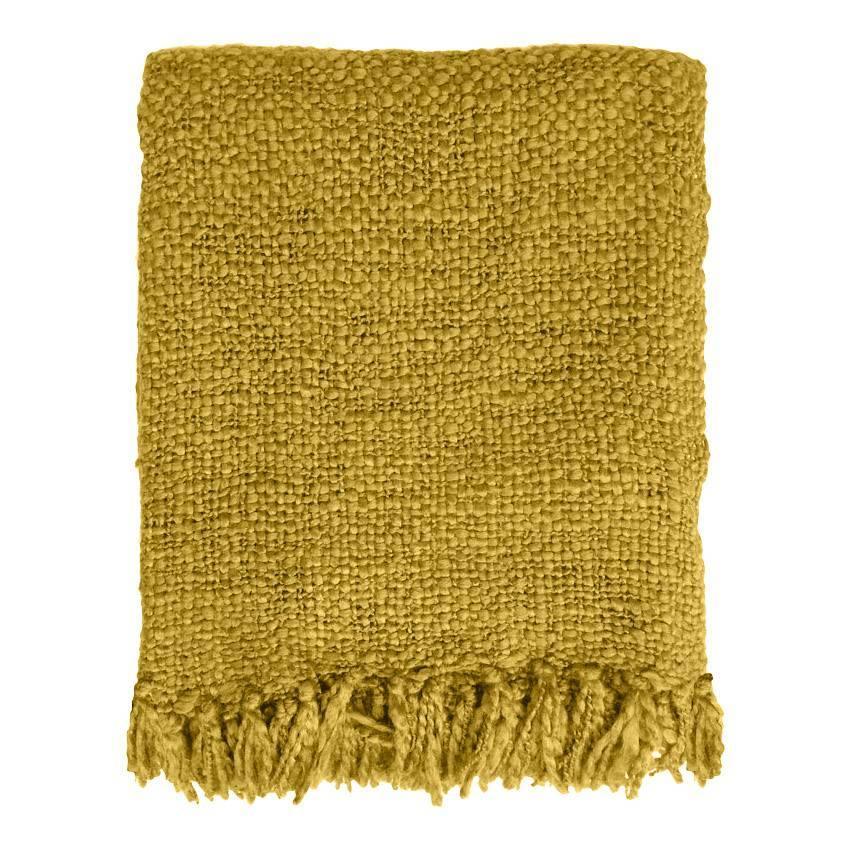 Mustard Yellow Throw Malagoon