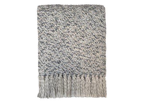 Sand beige throw