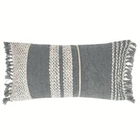 Berber grey cushion