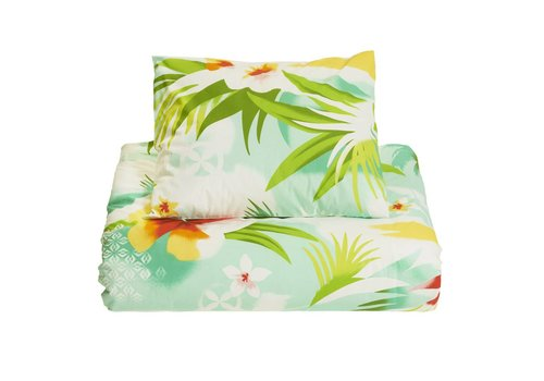 Pacific flower duvet cover