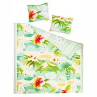 Pacific flower duvet cover