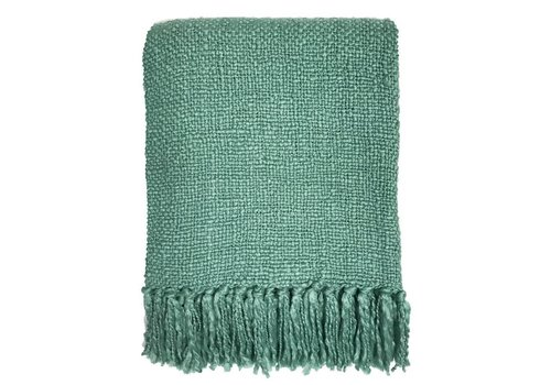 Misty green throw (March 30)