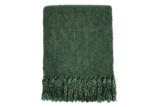 Marble jungle green throw (NEW)