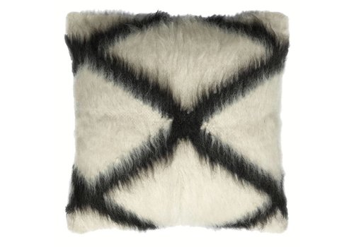 Floor cushion 100% wool cross 90x90