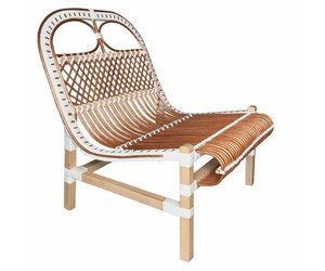 Incredible Rattan Lounge Chair White Ncnpc Chair Design For Home Ncnpcorg