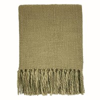 Antik green throw