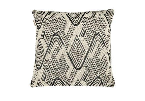 Raffia cotton offwhite cushion (March 15)
