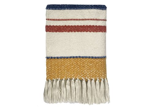 Multicolor boucle miracle throw (March 15)