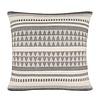 Native stripe cotton offwhite cushion 60x60cm (NEW)