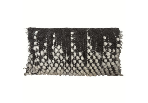 Drops rectangle cushion black 40x70 (NEW) (15 Oct)