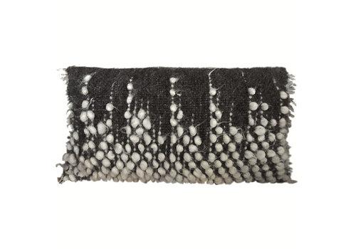 Drops rectangle cushion black 40x70 (NEW)