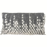 Drops rectangle cushion grey 40x70