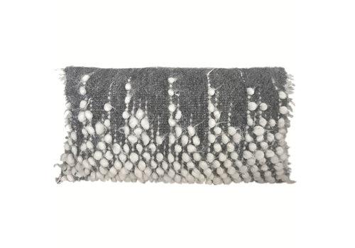Drops rectangle cushion grey 40x70 (NEW)