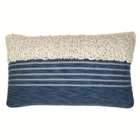 Tribal indigo blue cushion (NEW)