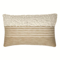Tribal off white cushion (NEW) (15 Oct)