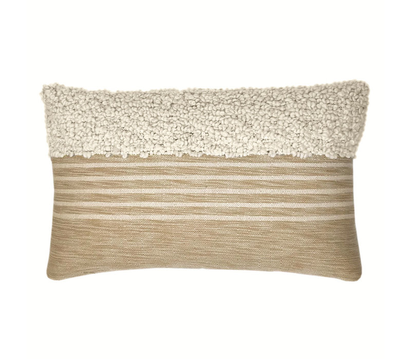 Tribal off white cushion (NEW)