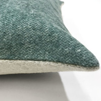 Easy green double faced recycled wool rectangle cushion (NEW)