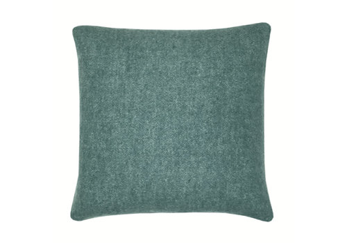 Easy green double faced recycled wool square cushion (NEW)