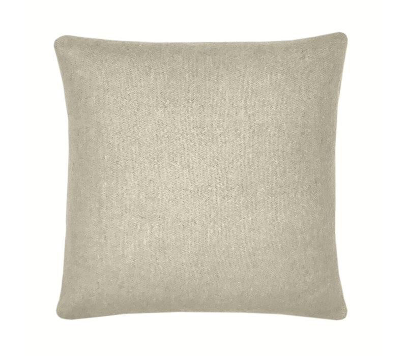 Easy green double faced recycled wool square cushion (NEW) (15 Oct)