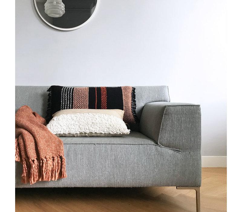 Multicolor black cushion (NEW)