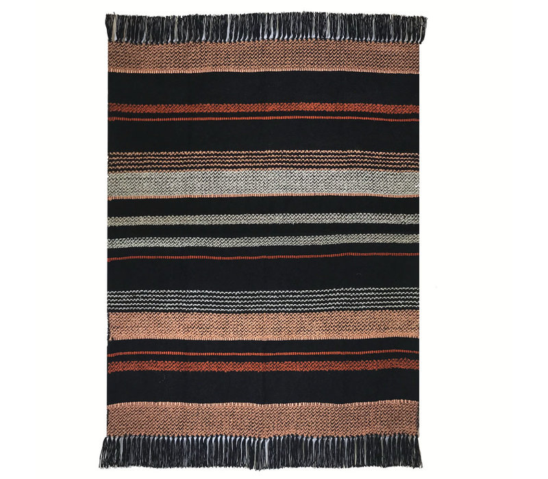 Multicolor black throw (NEW) (15 Oct)