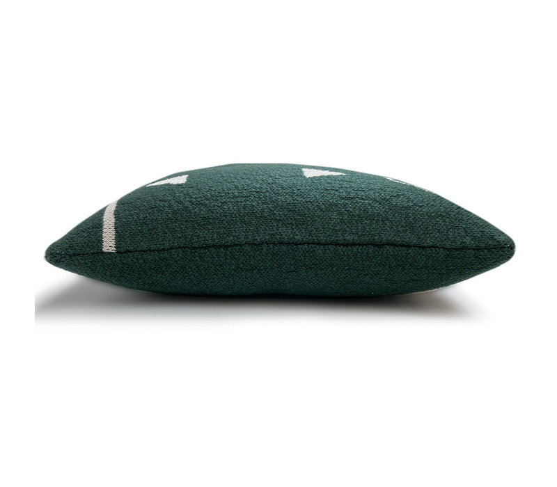 Fantasy line knitted cushion green (NEW)