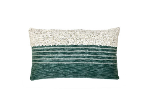Tribal green cushion (NEW)