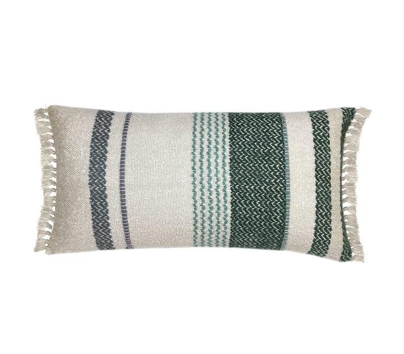 Multicolor pastel boucle cushion (NEW)