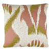 Ikat knitted cushion pink (NEW)