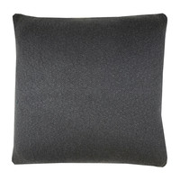 Ikat knitted cushion anthracite (NEW)