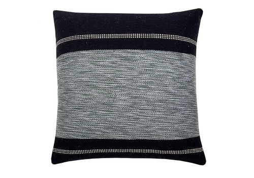 Black texture cushion square (NEW)