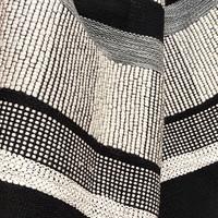 Black texture cushion rectangle (NEW)